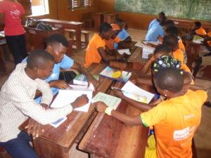Sènan School , Groupe d'élèves -Révisions Brevet & Bac