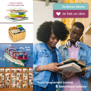 Accompagnement solidaire & Bibliothèque Solidaire Sènan